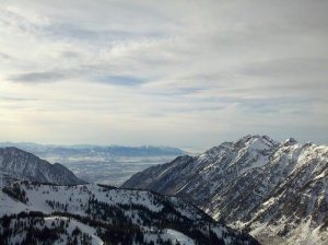 Utah Overlooking Salt Lake