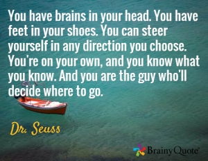 Dr Seuss Life Direction