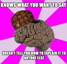 brain - knows what you want to say
